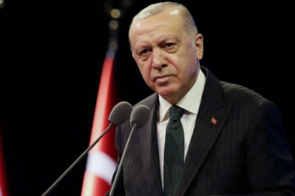 Νέο προκλητικό μήνυμα Ερντογάν: Θα υπερασπιστούμε τη