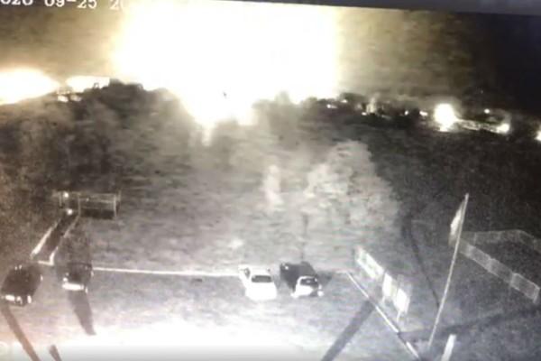 Βίντεο-ντοκουμέντο: Τα σοκαριστικά δευτερόλεπτα της συντριβής του αεροσκάφους στην Ουκρανία