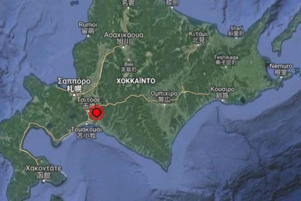 Τετραπλή σεισμική δόνηση στην Ιαπωνία μέσα σε 15 λεπτά
