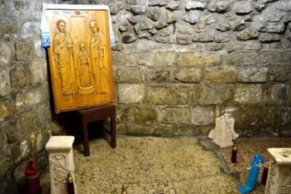 Αυτό είναι το σπίτι που γεννήθηκε η Παναγία (photo)