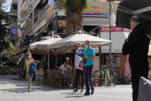 Τρίκαλα: Συνεχίζονται οι αυστηροί έλεγχοι για την τήρηση των μέτρων κατά του κορωνοϊού