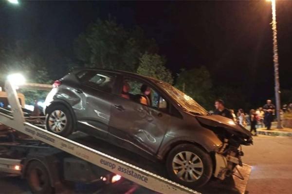 Λάρισα: Όχημα παρέσυρε δύο ανήλικους που εκτοξεύθηκαν στον αέρα