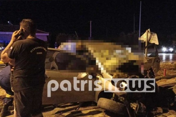 Τροχαίο στην Πατρών-Πύργου: Σύλληψη 26χρονου για την τραγωδία με το νεκρό 16 μηνών βρέφος