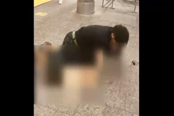 Φρίκη: Νεαρός προσπάθησε να βιάσει 25χρονη στο μετρό - Ανατριχιαστικό βίντεο
