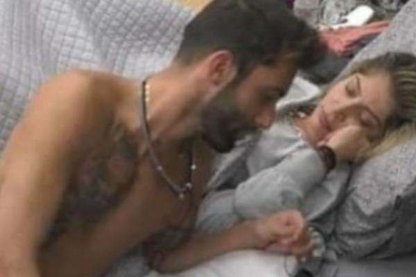 Big Brother: Η Δανέζη «άναψε» τον Κεχαγιά - Φάνηκε το πeος του (photo)