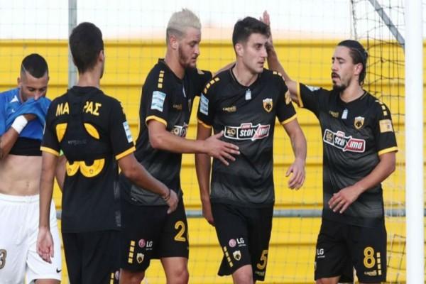 Νίκη της ΑΕΚ με 2-0 απέναντι στον Ιωνικό