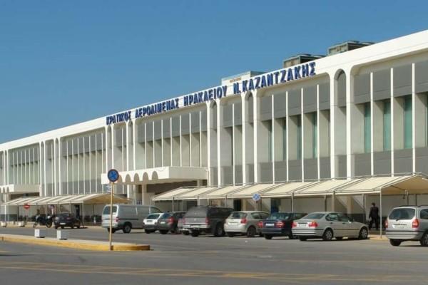 Κλειστό το αεροδρόμιο Ν. Καζαντζάκης λόγω κακοκαιρίας (video)