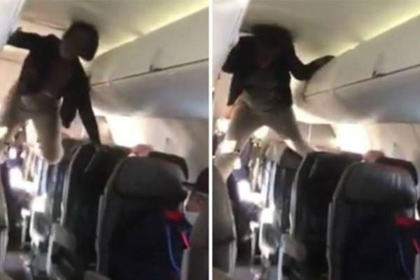Μπήκε στο αεροπλάνο και άρχισε να ουρλιάζει - Η συνέχεια θα σας σοκάρει