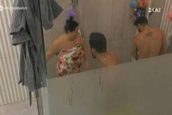 Σάλος στο Big Brother: Η Αφροδίτη μπούκαρε μέσα στο ντους που έκαναν μπάνιο γυμνοί άνδρες!