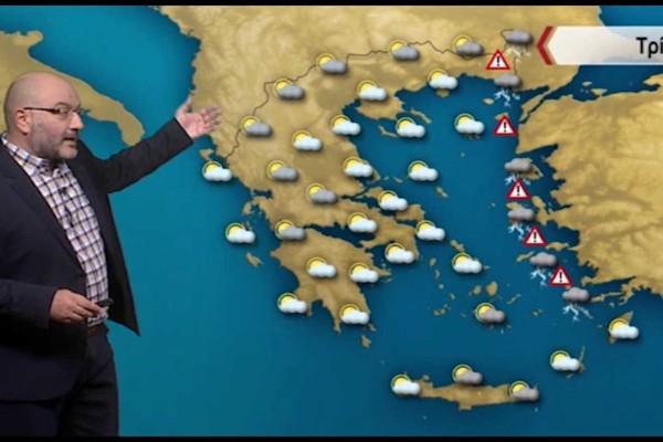 «Θύελλα και βροχές σαρώνουν όλη την χώρα μέχρι…» - Μετεωρολογική «βόμβα» από τον Σάκη Αρναούτογλου