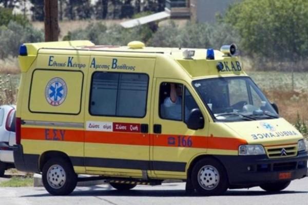 Τροχαίο στην Κηφισίας: Ένας σοβαρά τραυματίας στο νοσοκομείο