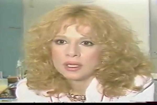 Αλίκη Βουγιουκλάκη: Όταν βγήκε εκτός εαυτού και έσβησε ένα τσιγάρο στον...