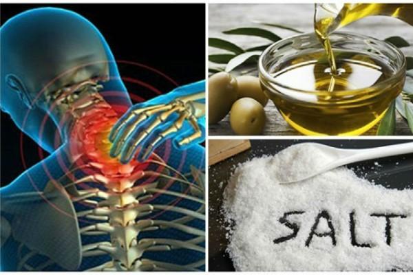 Ανακατέψτε λίγο αλάτι και ελαιόλαδο και δεν θα αισθανθείτε πόνο για τα επόμενα 5 χρόνια