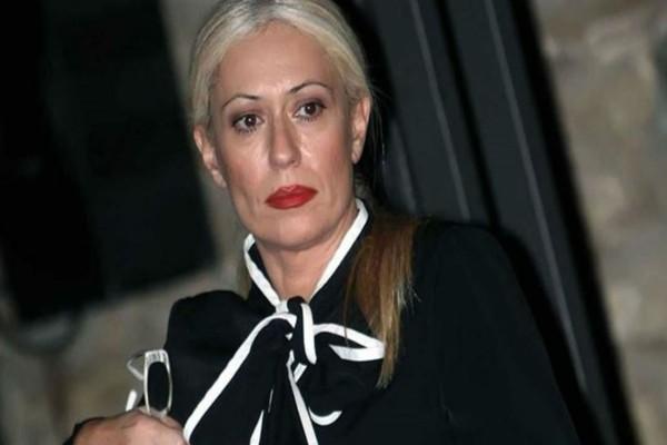 Δύσκολες ώρες για τη Μαρία Μπακοδήμου - Η φωτογραφία ντοκουμέντο μέσα από το νοσοκομείο