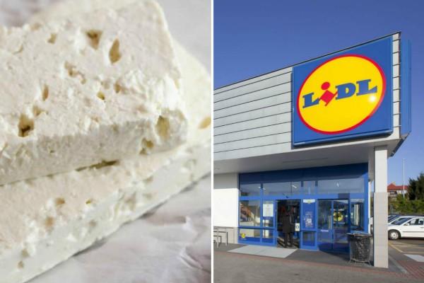 Προσοχή: Ο ΕΦΕΤ ανακαλεί λευκό τυρί τύπου φέτα από τα Lidl