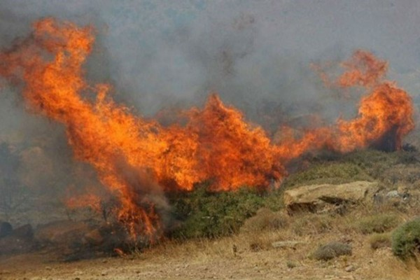 Φωτιά στη Ζάκυνθο