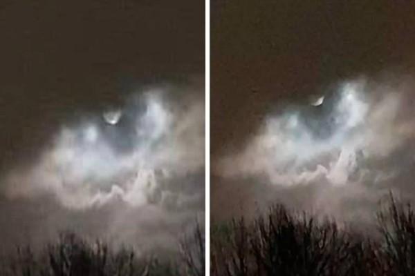 48χρονη μετά από καταιγίδα μια γυναίκα τράβηξε αυτή την φωτογραφία - Δείτε την καλύτερα και θα πάθετε σοκ!