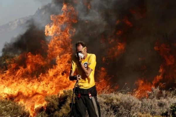 Φωτιά στην Ηλεία