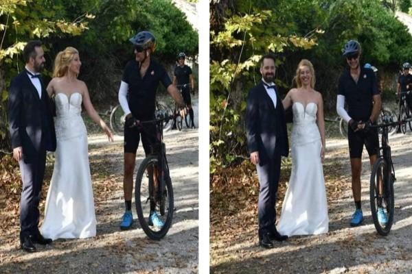 Νεόνυφμοι πέτυχαν τον Κυριάκο Μητσοτάκη να κάνει ποδήλατο στο Τατόι και του ζήτησαν να ποζάρει μαζί τους!