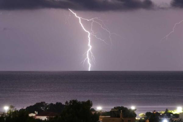 Μεγάλες καταστροφές στην Χαλκιδική
