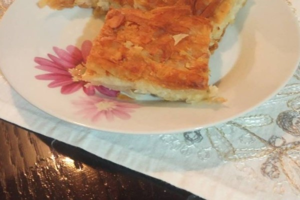Βολιώτικη κασερόπιτα με σπιτικό φύλλο της γιαγιάς!