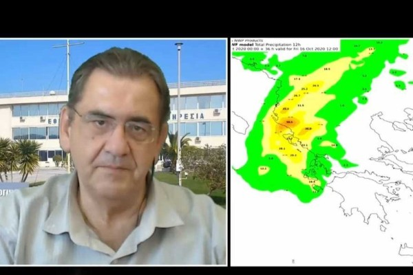 «Διπλό κύμα κακοκαιρίας χτυπά την Ελλάδα με…» - Έκτακτη προειδοποίηση του Θοδωρή Κολυδά