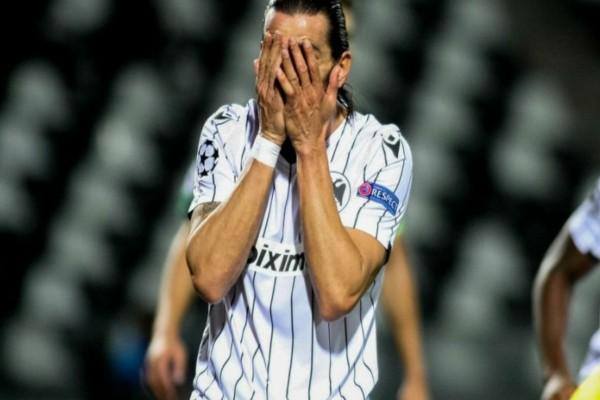 Champions League: Απαρηγόρητος ο ΠΑΟΚ μετά την ήττα