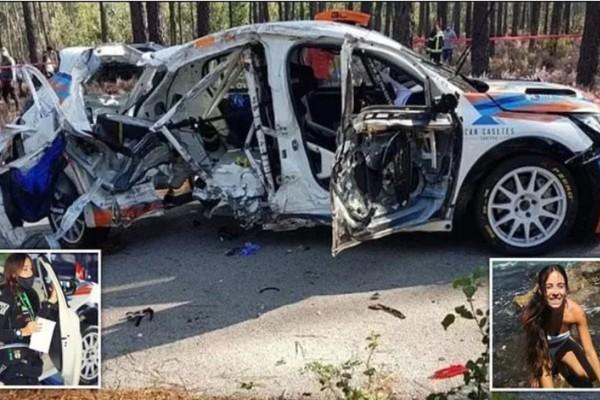 Σοκ: Σκοτώθηκε σε αγώνα ράλι γνωστή συνοδηγός