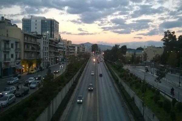Λεωφόρος Μεσογείων: Οι κυκλοφοριακές μεταρρυθμίσεις που θα ισχύουν για το Σαββατοκύριακο