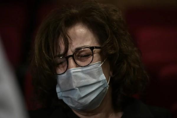 Δίκη Χρυσής Αυγής: Κατέρρευσε η Μάγδα Φύσσα στο άκουσμα της απόφασης