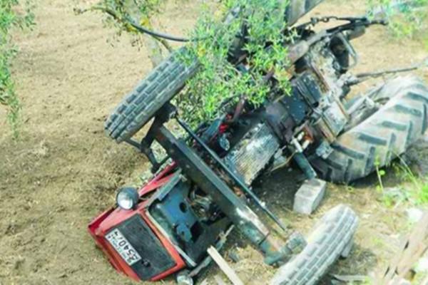 Τραγωδία στις Σέρρες: 57χρονος αγρότης καταπλακώθηκε από τρακτέρ