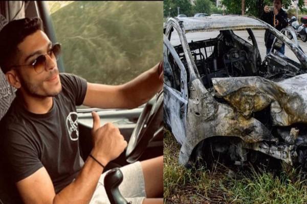 Τραγικό δυστύχημα στις Μυκήνες - Απανθρακώθηκε 26χρονος (video)