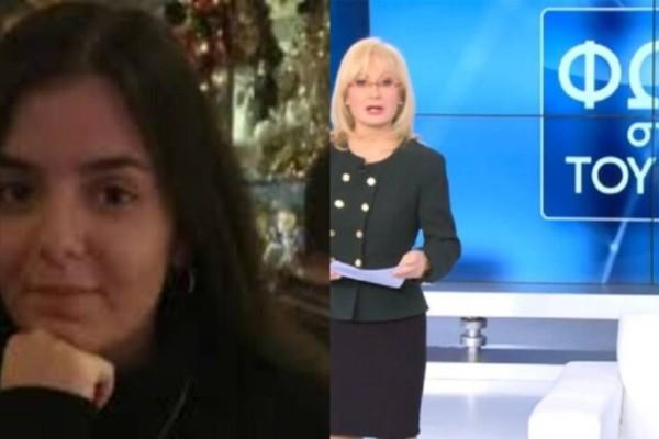 Σοκαριστική είδηση της Αγγελικής Νικολούλη για την εξαφάνιση της 19χρονης στο Κορωπί - «Κάτι τη σόκαρε…»