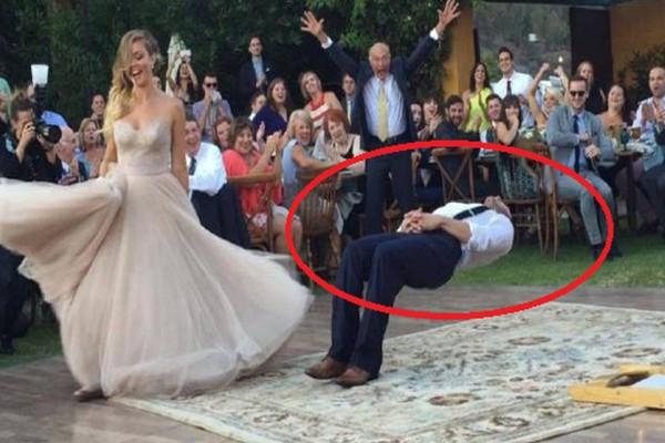 Πάγωσαν οι καλεσμένοι σε γάμο με τη νύφη και τον γαμπρό: Τι έπαθε ο άνδρας και στέκεται έτσι; Έτρεχαν έντρομοι