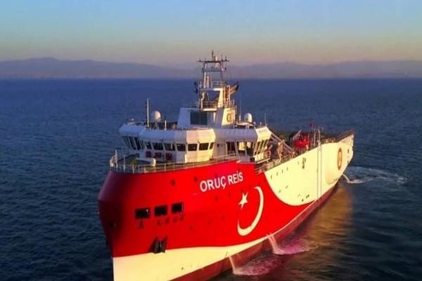 Συναγερμός στο Αιγαίο: Απομακρύνεται το Oruc Reis - Αυτή είναι η θέση του