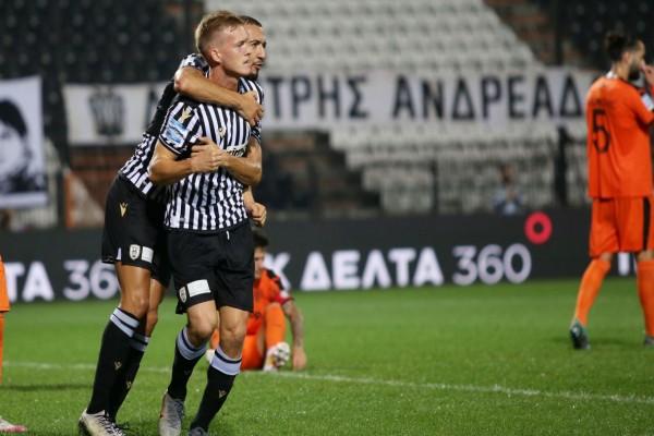 Super League: Επιστροφή στις νίκες για τον ΠΑΟΚ με γκολ από... τα αποδυτήρια