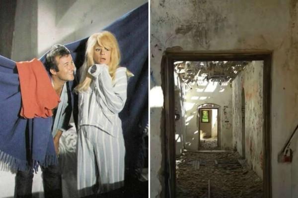 Ερείπιο: Έτσι είναι σήμερα η βίλα της Αλίκης Βουγιουκλάκη στην ταινία