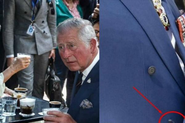 Ρεζίλι o Κάρολος: Δείτε τη λεπτομέρεια στο σακάκι του που δεν πρόσεξε κανείς