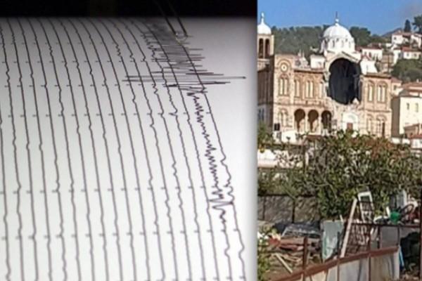 Σεισμός στη Σάμο: Κατέρρευσε εκκλησία στο Καρλόβασι!