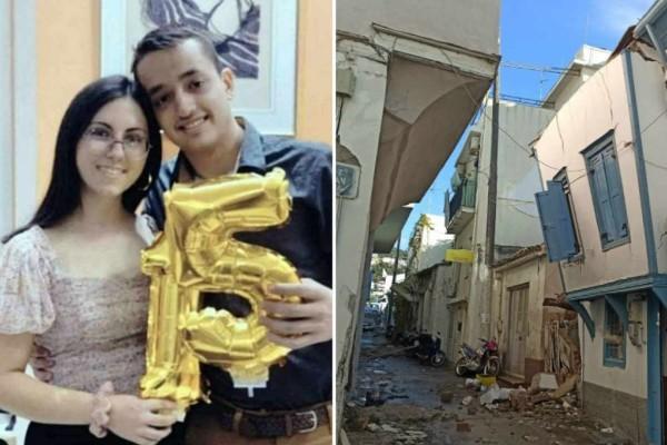 Σεισμός στη Σάμο: Θρήνος με το θάνατο των δύο παιδιών - Αγωνία με τους συνεχείς μετασεισμούς