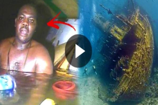 Η συγκλονιστική στιγμή που δύτες βρίσκουν ζωντανό μετά από 3 ημέρες, έναν άντρα σε ναυάγιο πλοίου, θα σας κόψει την ανάσα!