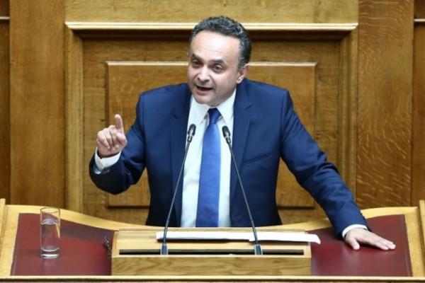 Θετικός στον κορωνοϊό ο βουλευτής της ΝΔ Σταύρος Κελέτσης