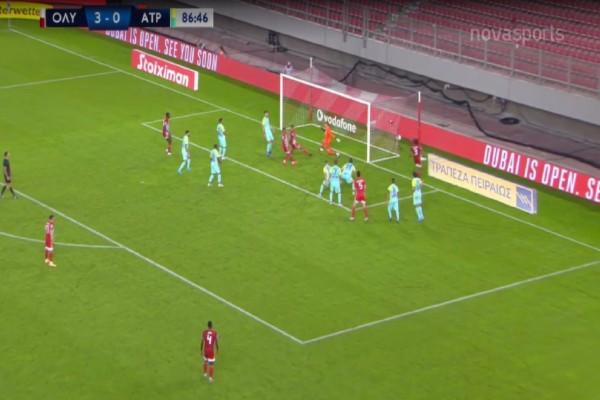 Super League: Ο Ολυμπιακός «καθάρισε» με 4-0 τον Ατρόμητο (Video)