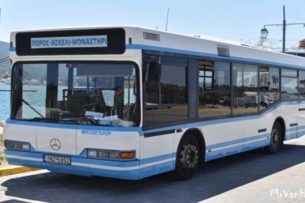 Πόρος: Μεθυσμένοι τουρίστες έκλεψαν λεωφορείο και έκαναν βόλτες... γυμνοί
