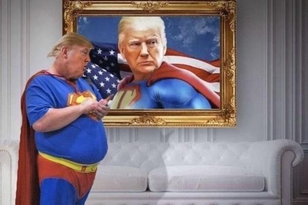 Ντόναλντ Τραμπ: Ήθελε να εμφανιστεί με το μπλουζάκι του... Σούπερμαν και το Twitter