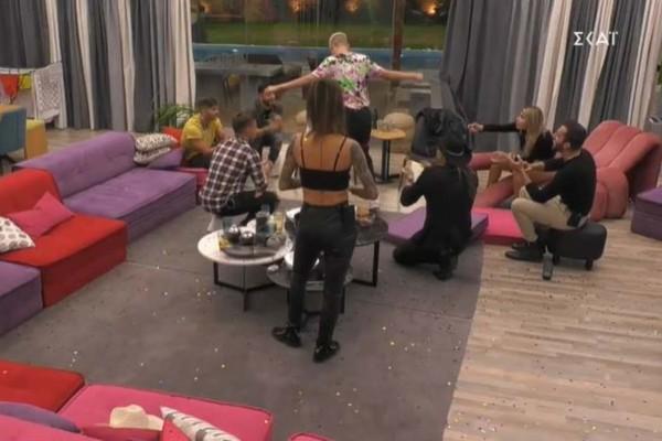 Big Brother: Το νυφικό της Άννας Μαρίας και το ξέσπασμα του Πυργίδη - Δείτε τα highlights