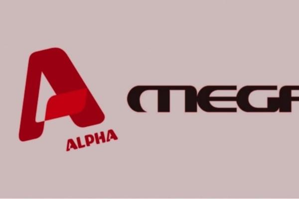 «Πόλεμος» δίχως τέλος μεταξύ Mega και Alpha - Τσακώνονται… για τα μάτια ενός άνδρα