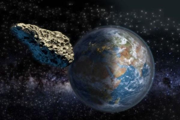 Αστεροειδής πέρασε
