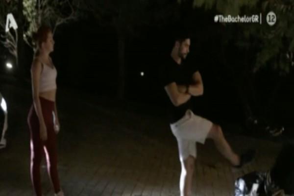 The Bachelor: Αδιανόητος καβγάς του Παναγιώτη με την Νικόλ - Κλώτσησε τα πάντα και έκανε την ανατροπή