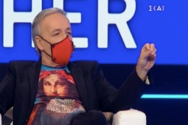 Big Brother: Συγκλονίζει ο Ανδρέας Μικρούτσικος - Το μήνυμα πίσω από τη μάσκα του